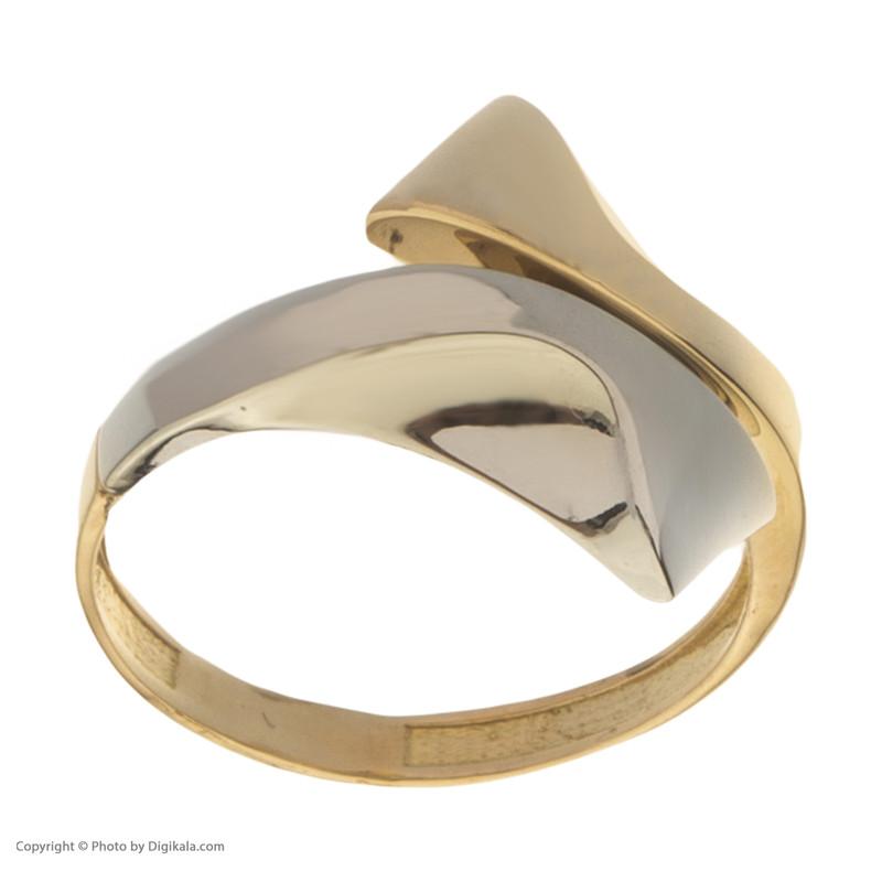 انگشتر طلا 18 عیار زنانه مدیسا مدل R2003-53