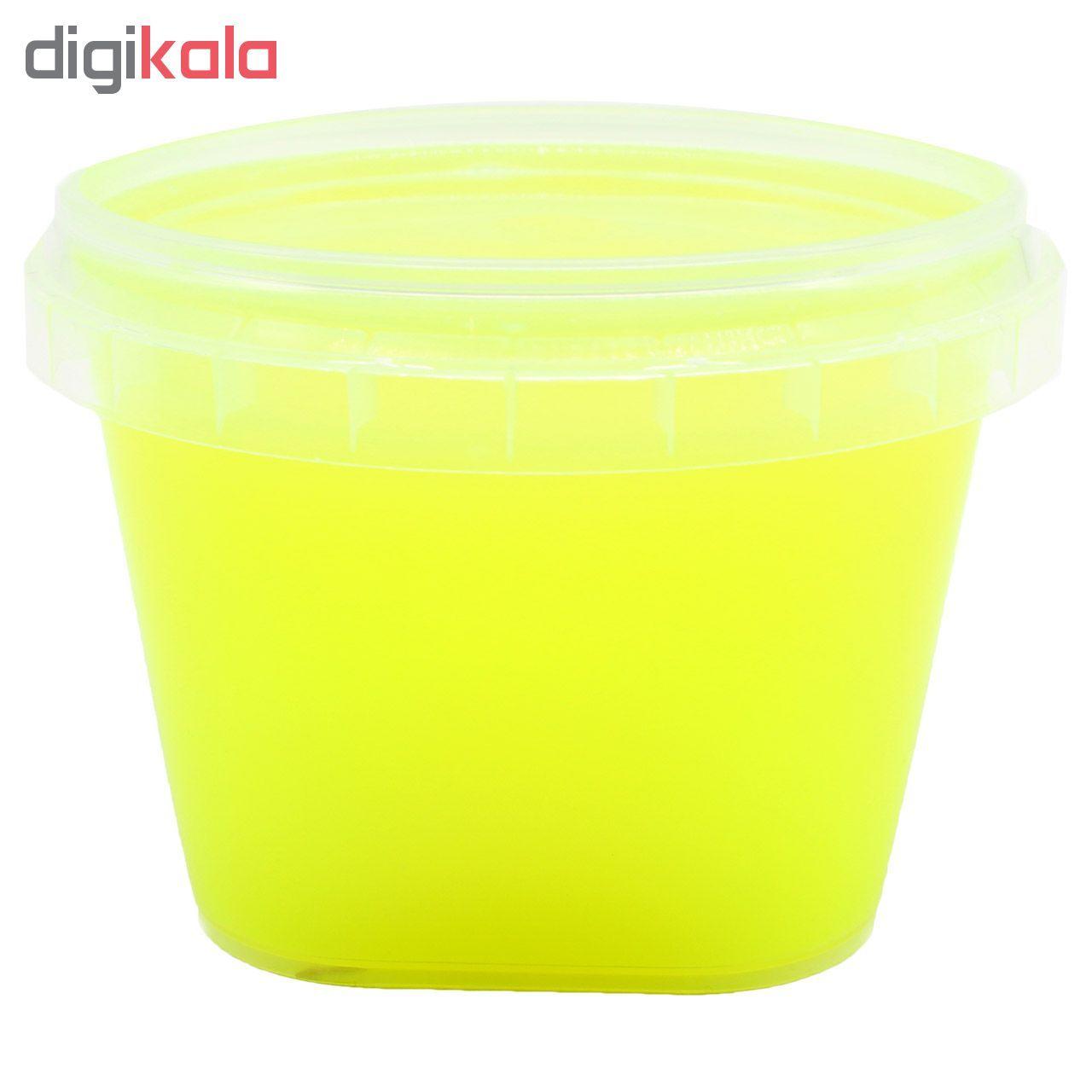 ژل اسلایم مدل R300 رنگ زرد