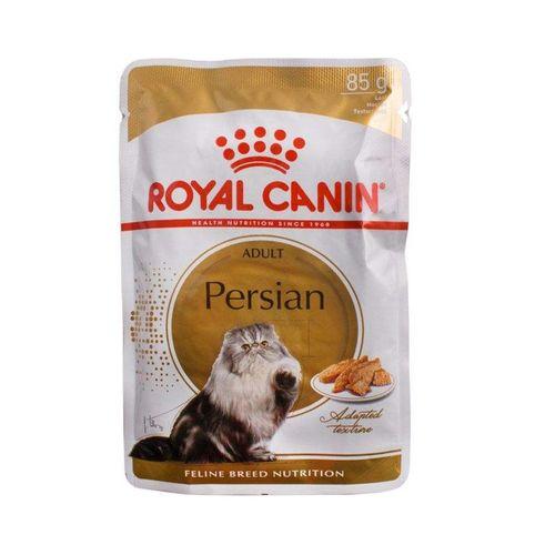 غذای پوچ گربه پرشین رویال کنین مدل PERSIAN وزن 85 گرم