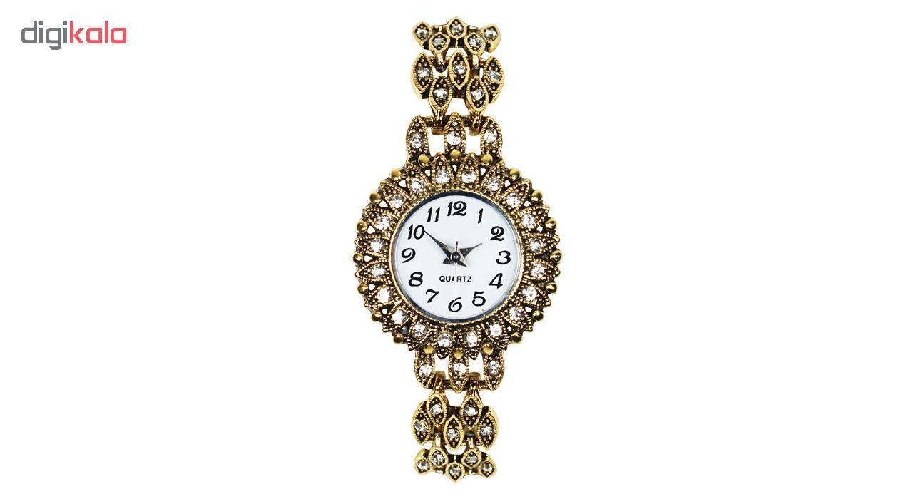 خرید ساعت مچی عقربه ای زنانه طرح سنتی 02