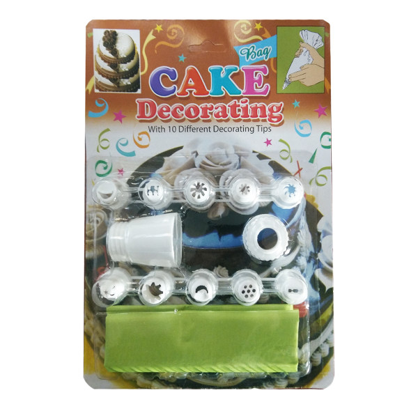 مجموعه 13 عددی لوازم تزئین کیک مدل Cake Decorating