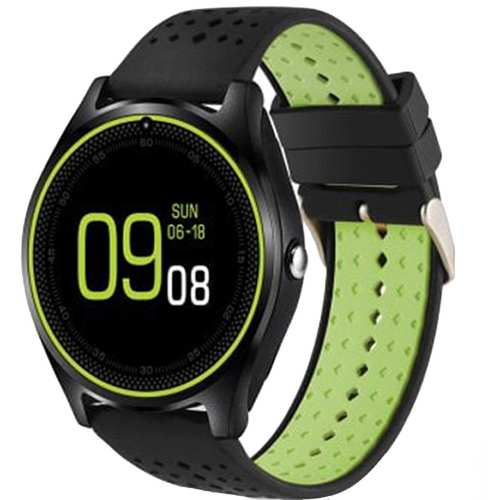 ساعت مچی هوشمند مدل V9 همراه محافظ صفحه نمایش شیدتگ