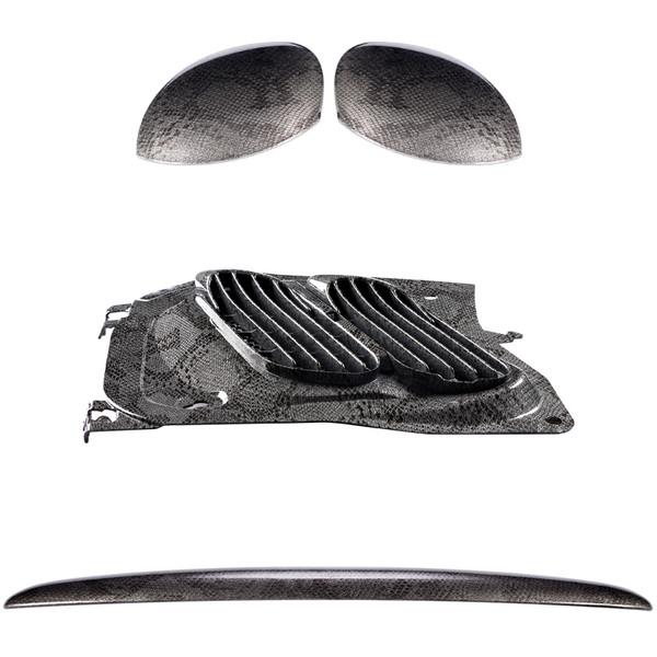 مجموعه تریم خارجی استیلا مدل Cobra مناسب برای پژو 206