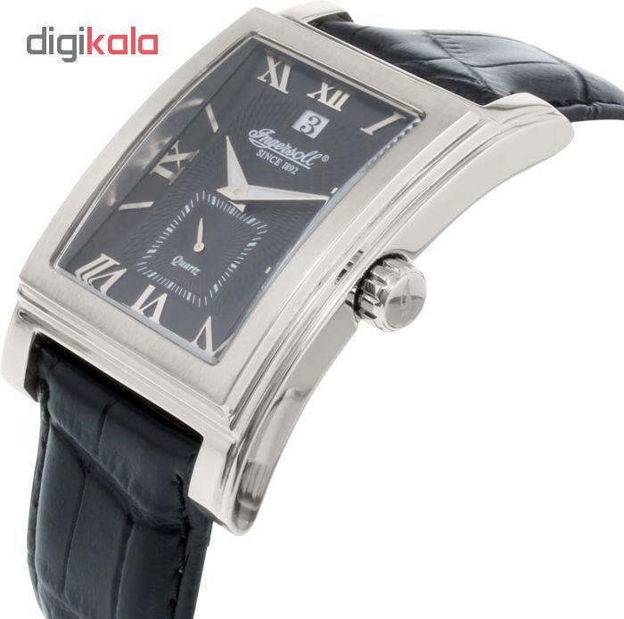 خرید ساعت مچی عقربه ای مردانه اینگرسل مدل INQ013BKSL