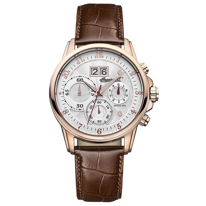 ساعت مچی عقربه ای مردانه اینگرسل مدل INQ015SLRS