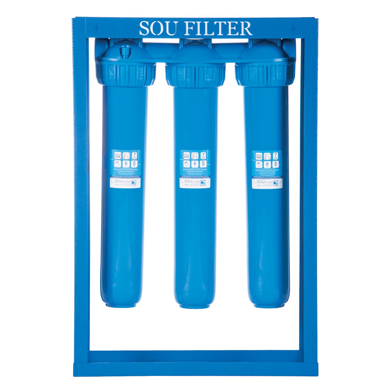 دستگاه پیش تصفیه کننده آب سوفیلتر مدل PF01