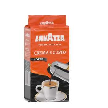 دانه قهوه لاوازا مدل   Forte حجم 250 گرم