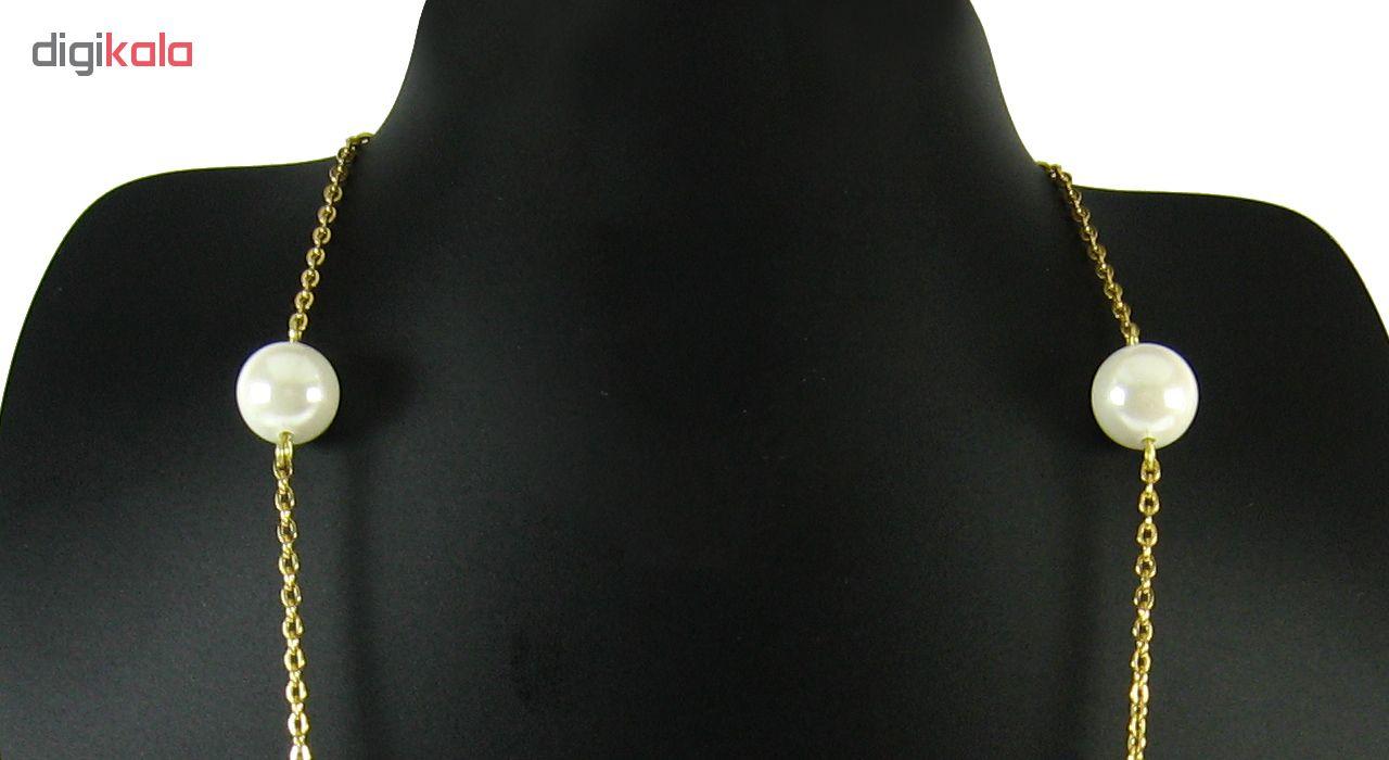 گردنبند طلا 18 عیار مانچو مدل Sfg614