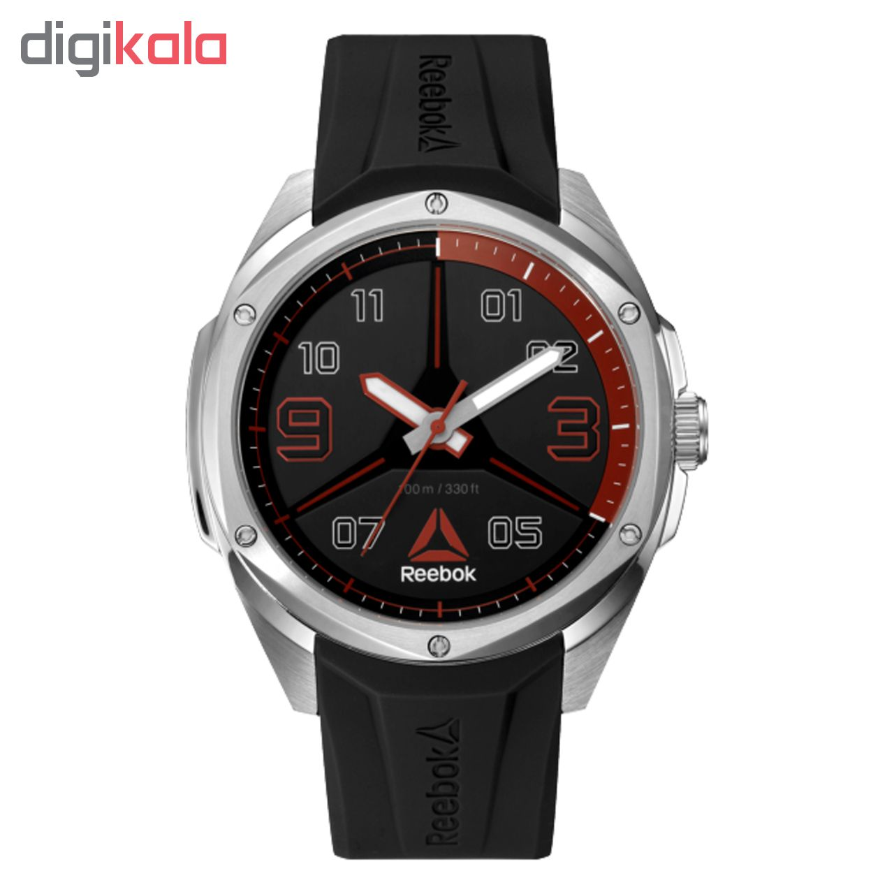 خرید ساعت مچی عقربه ای مردانه ریباک مدل RD-UPP-G2-S1IB-BR