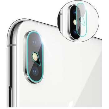 محافظ لنز شیشه ای دوربین مدل Camera Screen Protector مناسب برای گوشی موبایل اپل iPhone X