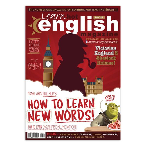 مجله Learn Hot English - شماره 188