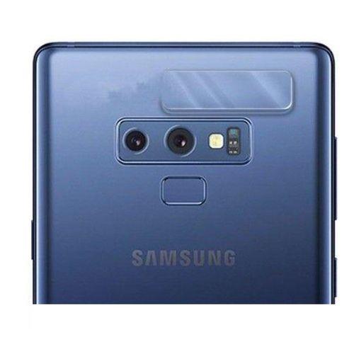 محافظ لنز شیشه ای دوربین مدل Camera Screen Protector مناسب برای گوشی موبایل سامسونگ Galaxy Note 9