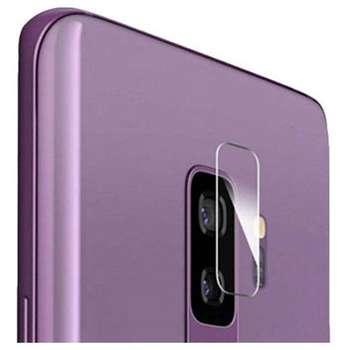 محافظ لنز شیشه ای دوربین مدل Camera Screen Protector مناسب برای گوشی موبایل سامسونگ  Galaxy S9 Plus