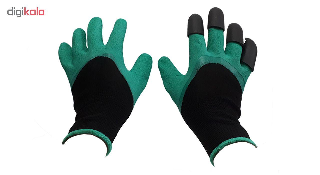 دستکش کار باغبانی گاردن جنی گلووس مدل 001 main 1 2