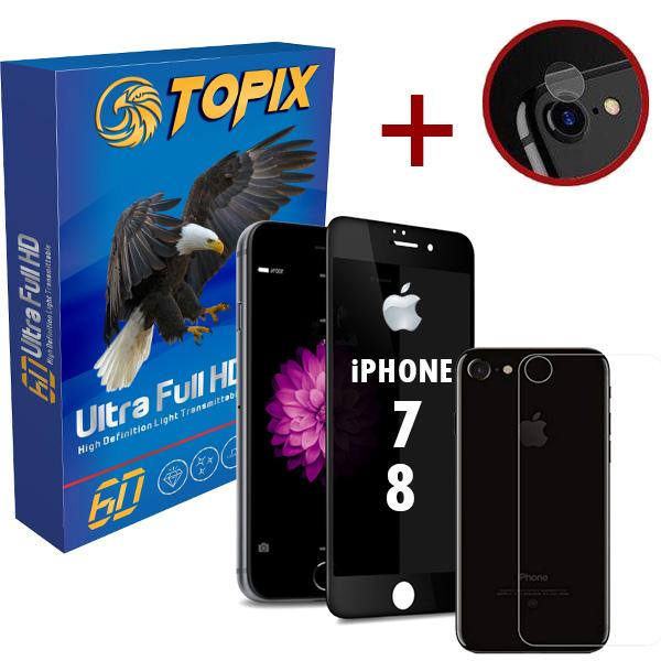 پکیج محافظتی تاپیکس مدل Privacy مناسب برای گوشی iphone 7 / 8