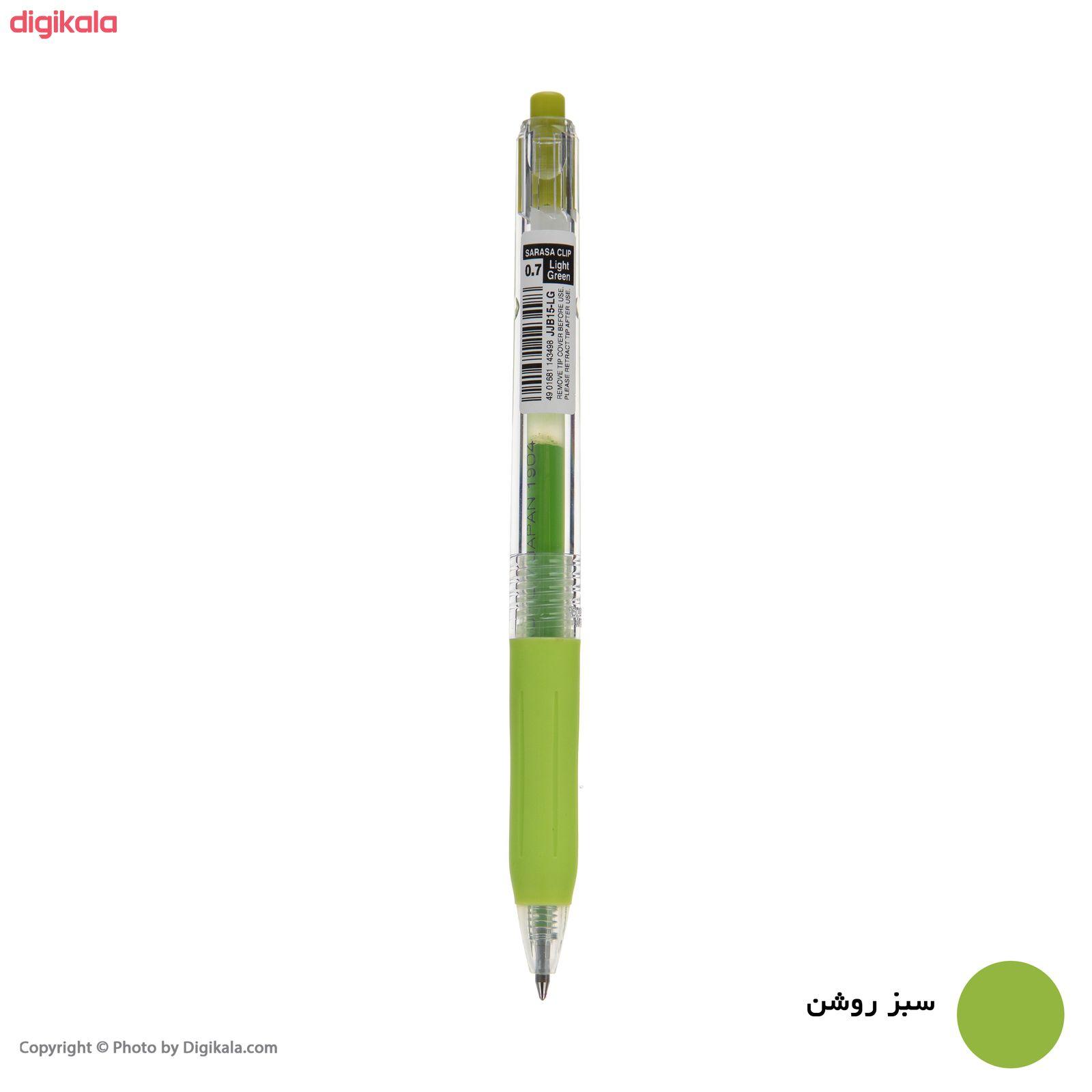 روان نویس زبرا مدل Sarasa Clip با قطر نوشتاری 0.7 main 1 9