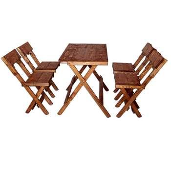 میز و صندلی ناهارخوری 4نفره مدلA-001  