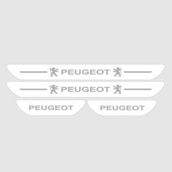 برچسب پارکابی خودرو مدل S166 مناسب برای پژو 206 و 207