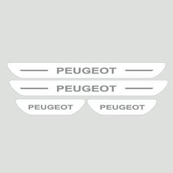 برچسب پارکابی خودرو مدل S168 مناسب برای پژو 206 و 207