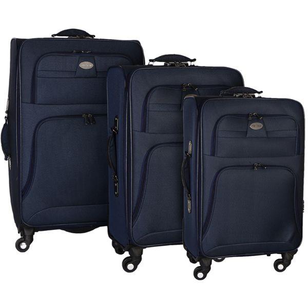 مجموعه سه عددی چمدان تاپ استار مدل TP1