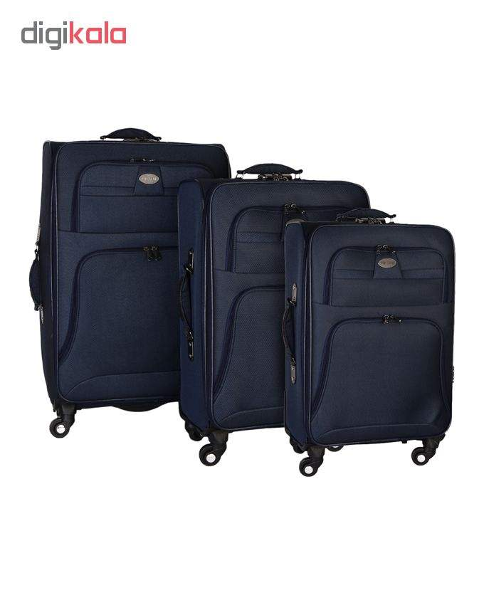 مجموعه سه عددی چمدان تاپ استار مدل TP1 main 1 6