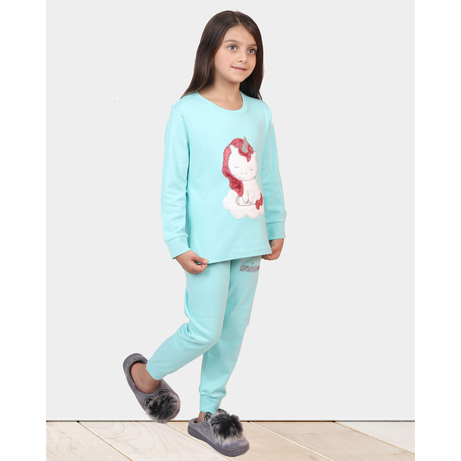 ست تی شرت و شلوار دخترانه مادر مدل 303-54 main 1 9