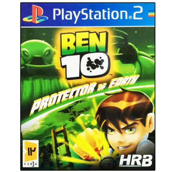 بازی Ben 10 Proetctor of Earth مخصوص PS2