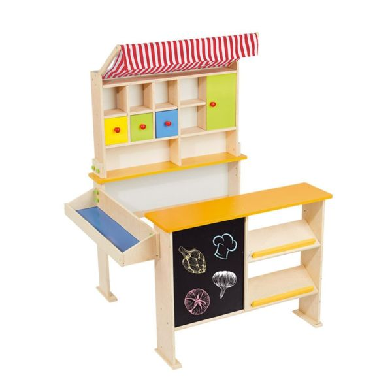 فروشگاه  کودک مدل Kaufladen