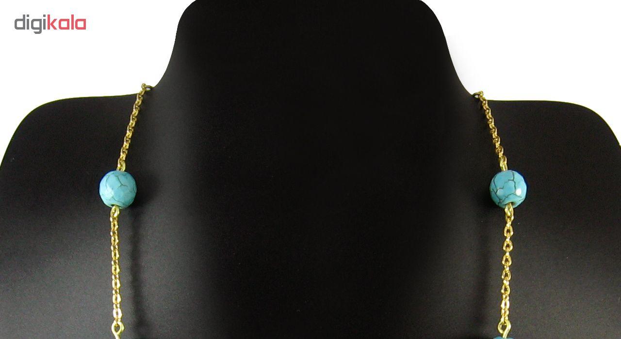 گردنبند طلا 18 عیار مانچو مدل Sfg613