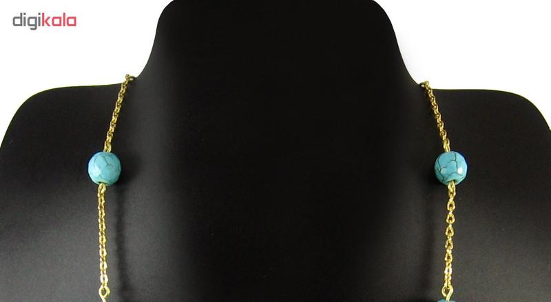 گردنبند طلا 18 عیار زنانه مانچو مدل Sfg613