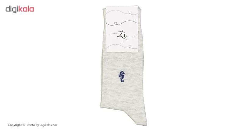 جوراب مردانه زی مدل 1531103-90