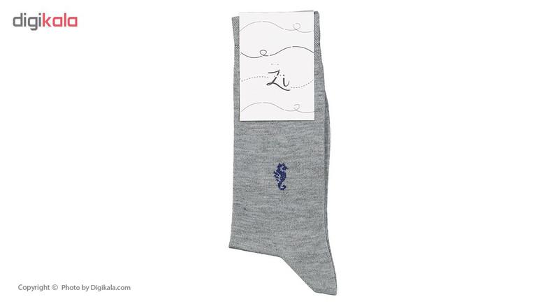 جوراب مردانه زی مدل 1531103-MG93