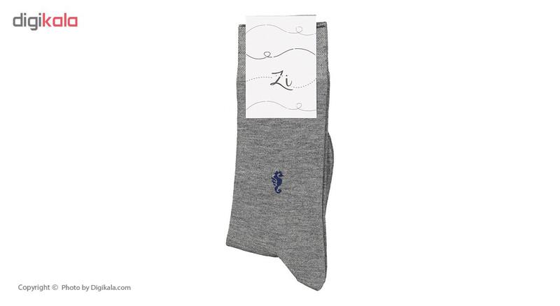 جوراب مردانه زی مدل 1531102-MG93