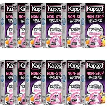 کاندوم کاپوت مدل Non Stop بسته 12 عددی