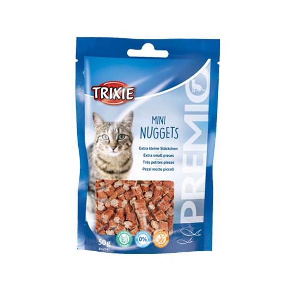 غذای تشویقی گربه تریکسی مدل Mini Nuggets وزن 50 گرم