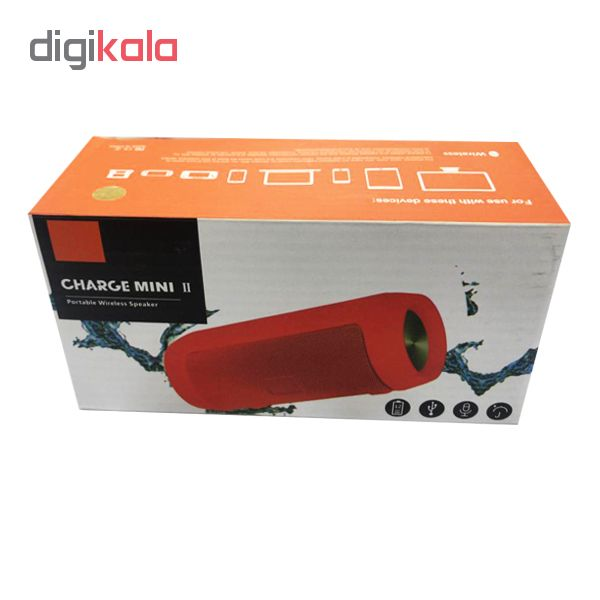 اسپیکر بلوتوث قابل حمل تی اند جی مدل  2 charge mini