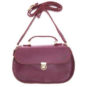 کیف دستی زنانه چرم دست دوز کد سی پرشیا 204204