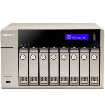 هارد تحت شبکه کیونپ مدل TVS-863-8G  