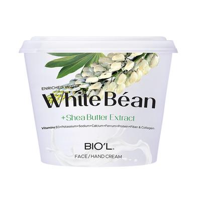 کرم دست و صورت بیول مدل White Bean حجم 250 میلی لیتر
