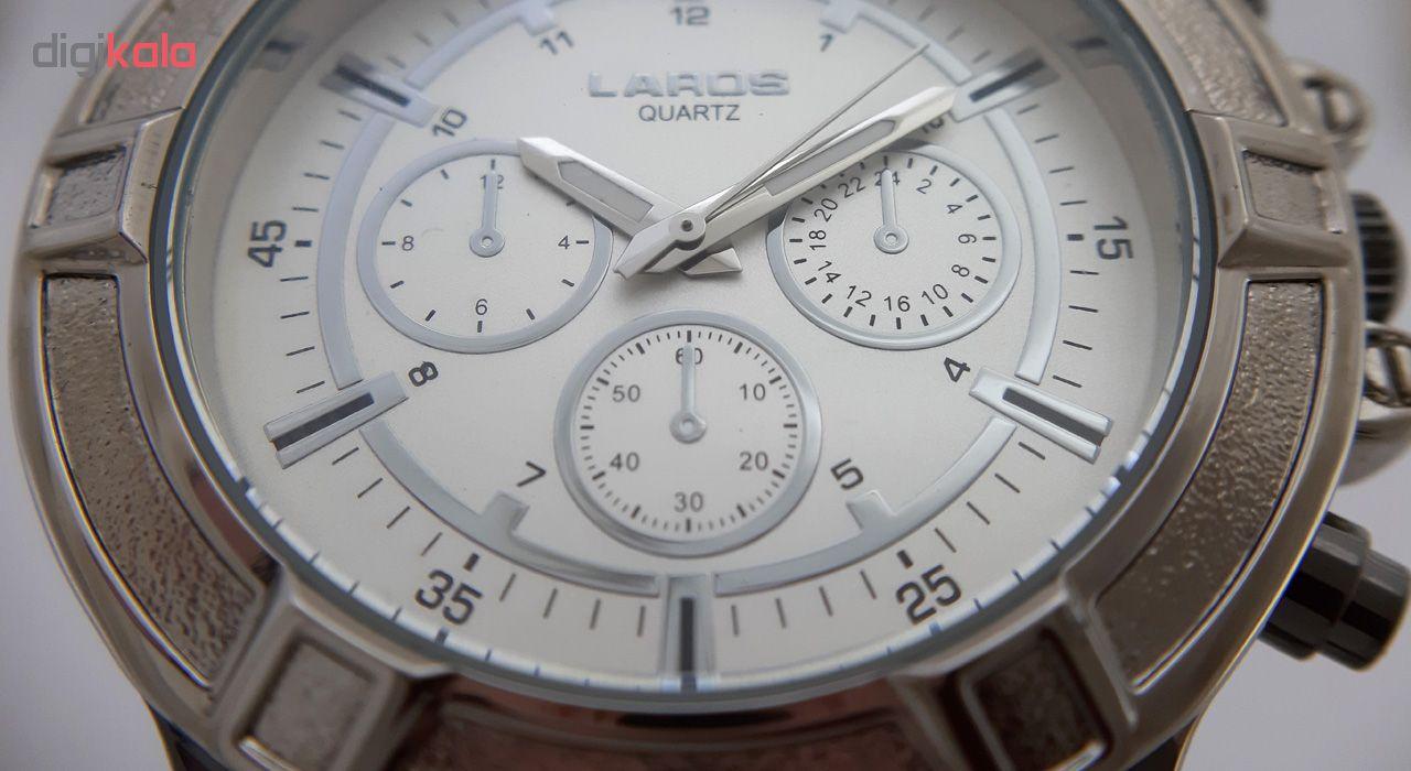 کد تخفیف                                      ساعت مچی عقربه ای مردانه لاروس مدل 0817-80053-s