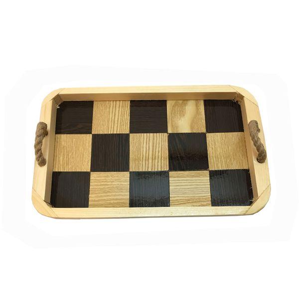 سینی چوبی آرونی مدل آتوسا سایز کوچک