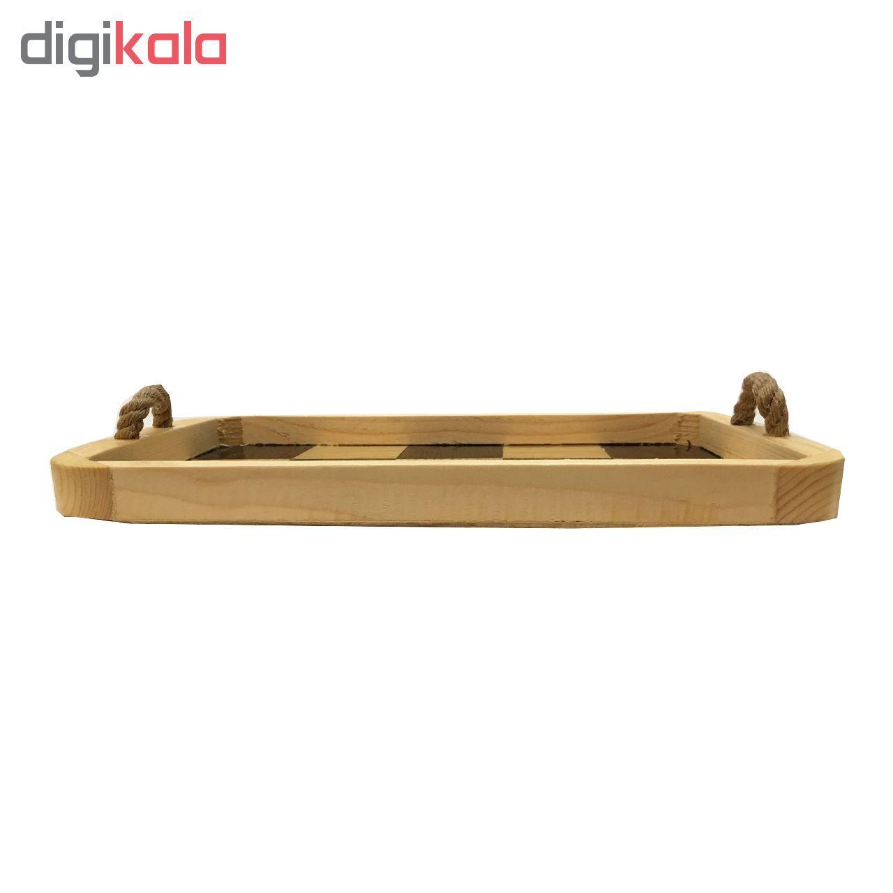 سینی چوبی آرونی مدل آتوسا سایز کوچک main 1 2