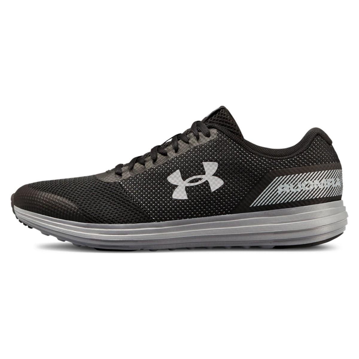 کفش مخصوص دویدن مردانه آندر آرمور مدل UA SURGE 4E رنگ طوسی مشکی