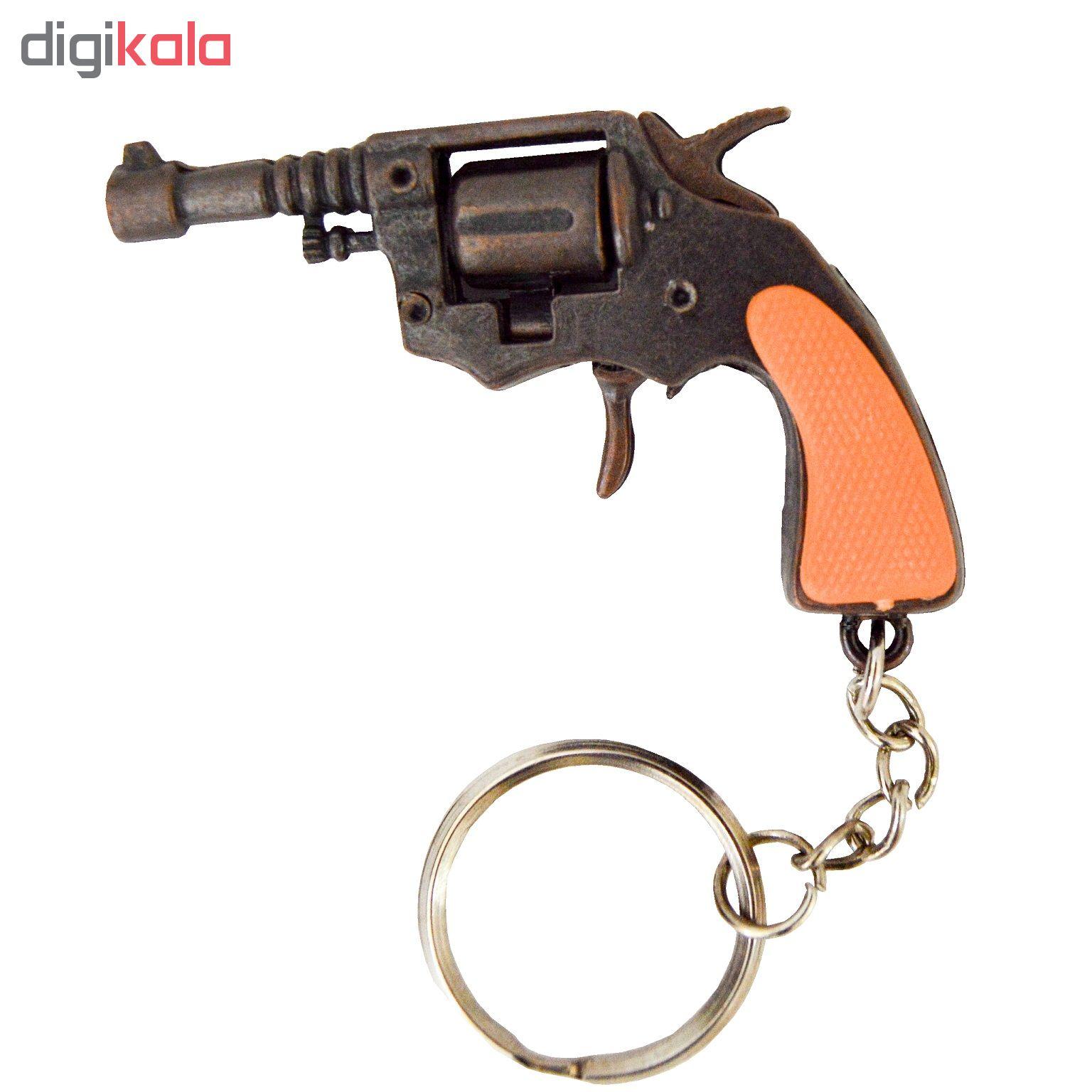 جاسوییچی طرح تفنگ مدل هفت تیر