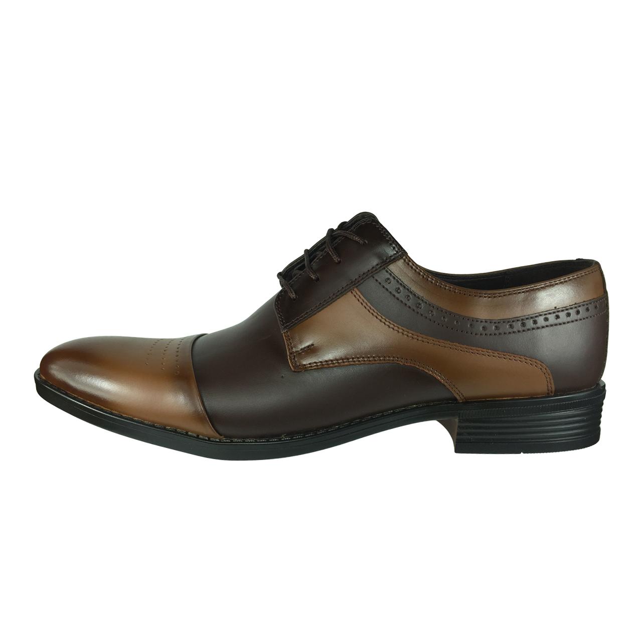 کفش مردانه مدل B422 رنگ قهوه ای