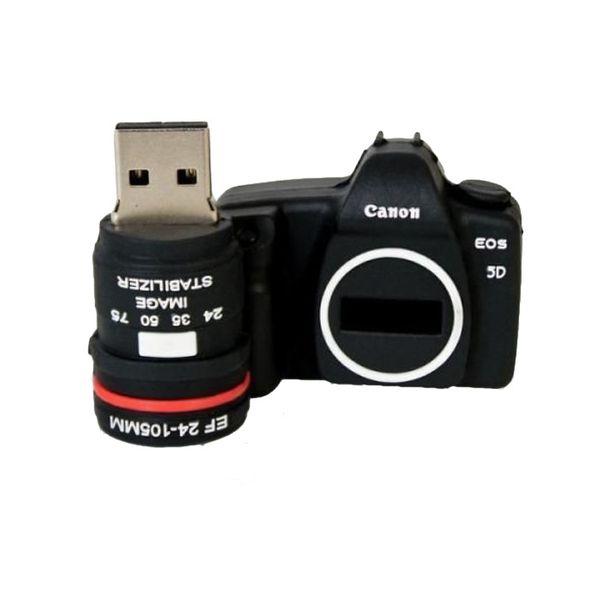 تصویر فلش مموری فانتزی سامسونگ ۳۲ گیگ مدل دوربین کانن