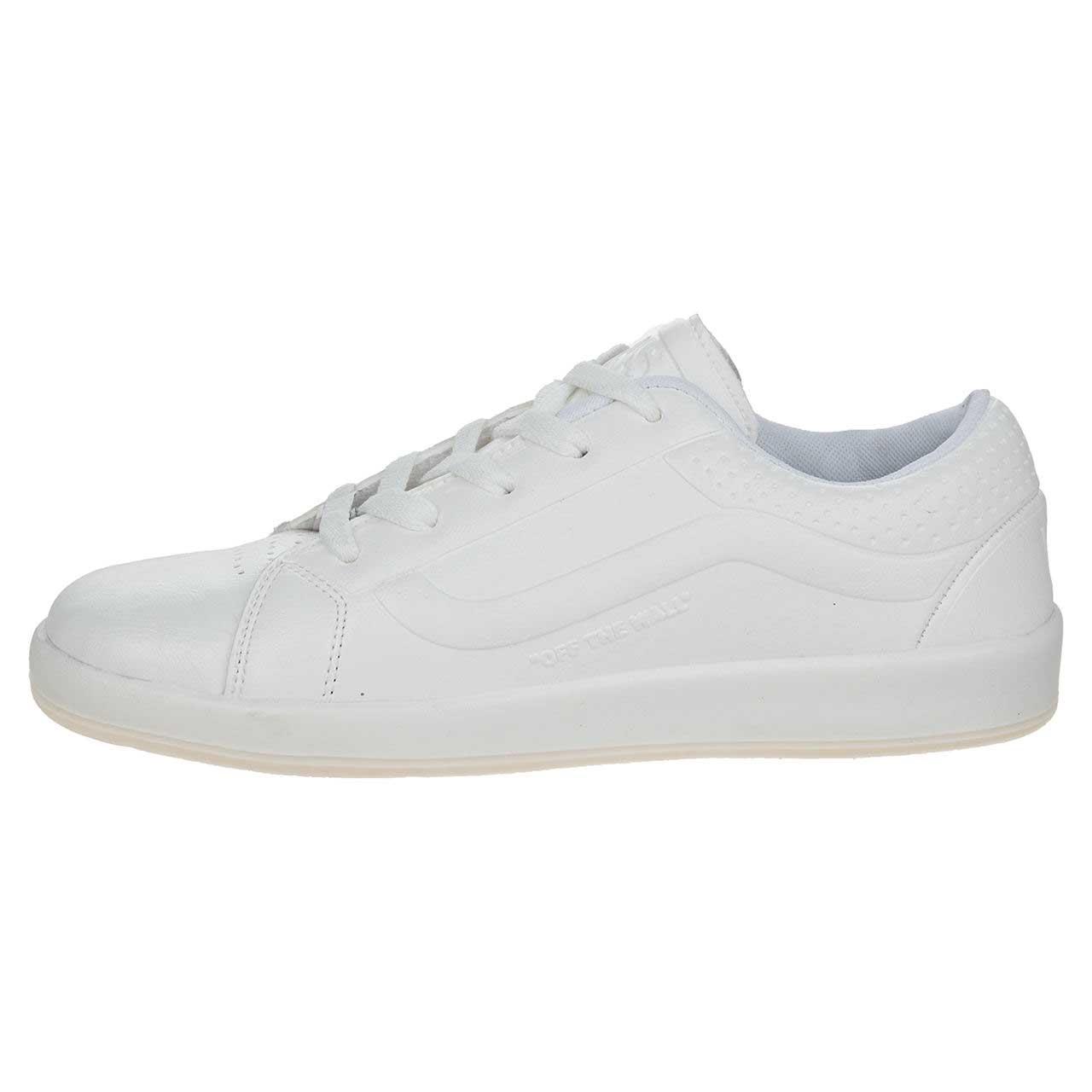 کفش مخصوص پیاده روی مردانه پابان رنگ سفید
