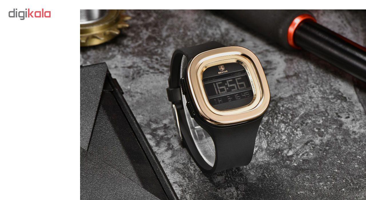 ساعت مچی دیجیتالی  بنیار مدل 8001G             قیمت