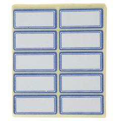 برچسب فوسکا سایز 1.8 × 3.9 سانتی متر بسته 100 عددی