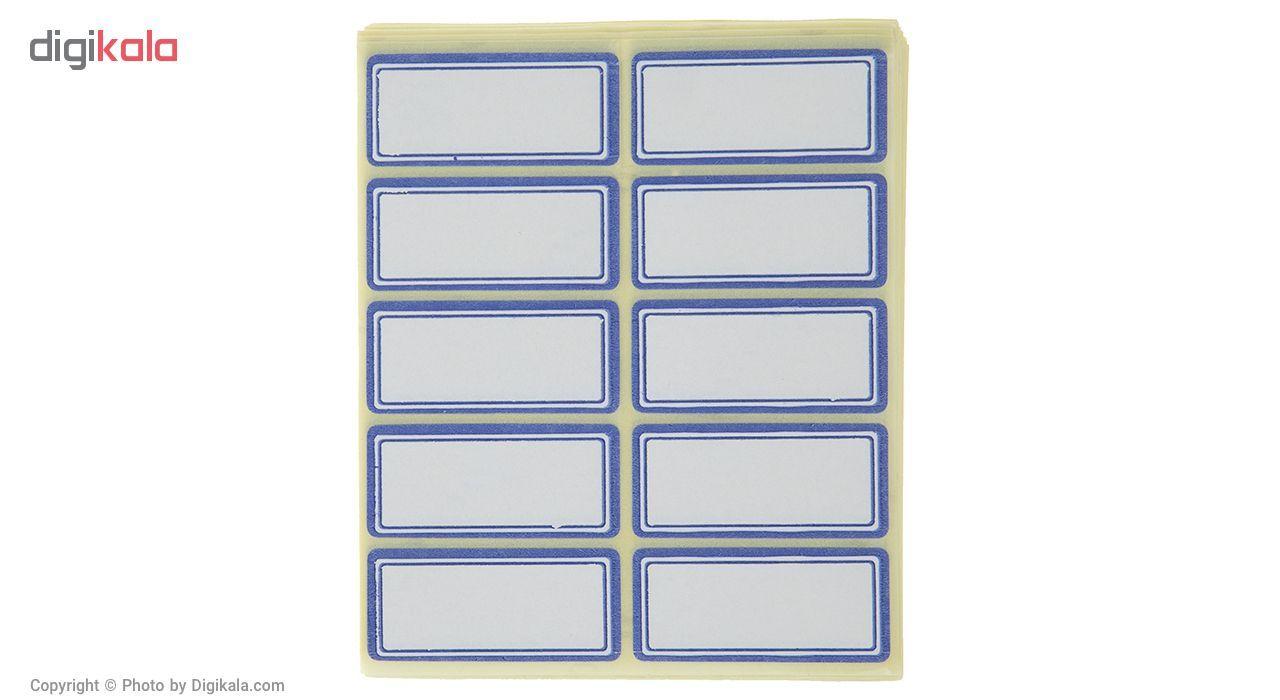 برچسب فوسکا سایز 1.8 × 3.9 سانتی متر بسته 100 عددی main 1 1